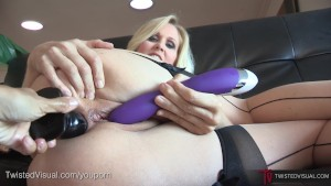Julia Ann Ass Stuffed and Fucked, Lesbian POV Style