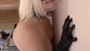 OldNannY Latina Mature Lesbian Andrea Masturbation