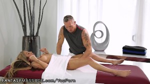 FantasyMassage Kat Dior Learns