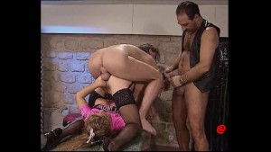 fisted and fucked by two guys