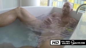 Johnny Sins Plays Solo in the Bathtub