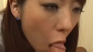 Horny Sana Nakajima uses a small red vibrator on her muff for joy