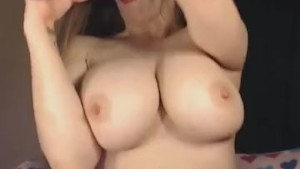 Busty Cam Girl Getting Wild on Cam