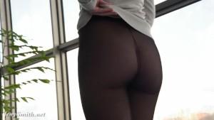 Jeny Smith transparent legging