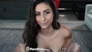 PORNPROS Stripper gram brunette Nina North fucked and facialed