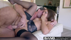 BANG Gonzo: Petite Latina Sara Luvv Spends The Day Fucking Manny