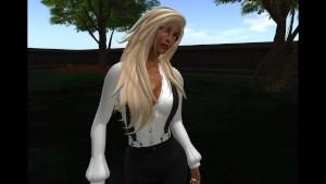 Virtuelsexe - Fred Adjani qui tchatche virtuellement a cote d une jolie blonde