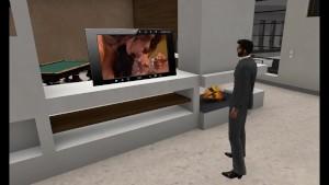 Virtuelsexe - Fred Adjani regarde un film porno et se branle