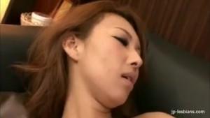 Horny Japanese babe and club hostess