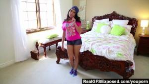 RealGfsExposed - Teen Megan Rain Twerks and Strips on Cam