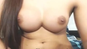 Sexy Hot Shemale Chick Faps Her Hard Cock