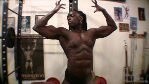 Muscular Ebony Goddess Roxanne Edwards