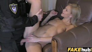 Fake Cop Cops charm gets MILF wet
