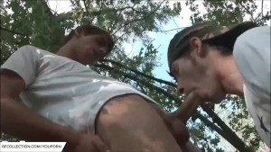 Army Gay Fuck Outdoor