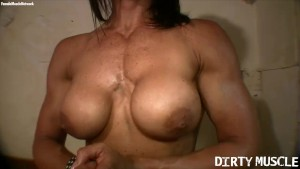 Muscular FBB Strips and Fucks
