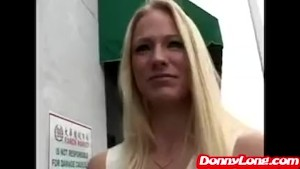 Donny Long breaks virgin asshole of MILF whore