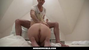 MormonGirlz- Creepy Dad Makes Son Watch Him Plow A Teen