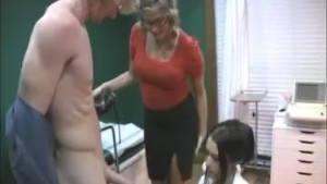 Handjob at the doctor s office