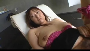 Mayumi fucked hard after let to suck cock in POV