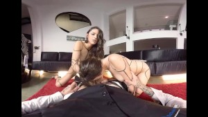VR Porn Euro Sluts Get Fucked In Threesome By POV BaDoink VR