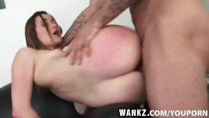 WANKZ- Teen Fucked on Casting Couch