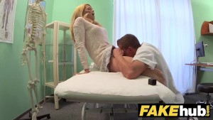 fake hospital dirty doctor gives blonde czech babe wet panties