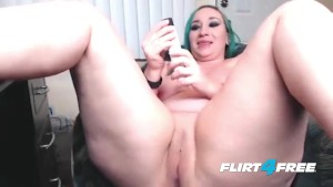 BBW Taylor Lynne Squirts and Spreads