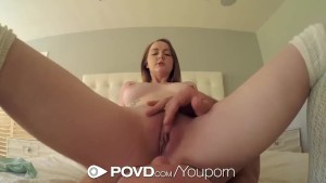 POVD Red head busty Leigh Rose POV fuck after shower