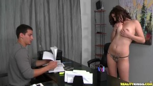Reality Kings - First Time Auditions - Moaning Mouna