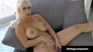 naughty nina kayy nails her twat with a dildo while sexting! – TEATERBOKEP.COM