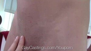 GayCastings First film fuck with casting agent for Micky Mackenzie