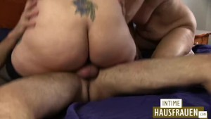 Threesome with bbw