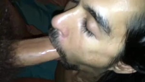 Straight Hung Hairy Hippie Suck and Cum Swallow.mp4