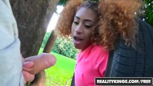 RealityKings - Naughty ebony teen Kendall Woods wants a big dick