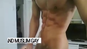 Turkish Adonis, god of cum. Anyl's body is perfect. His love of arab gay sex too