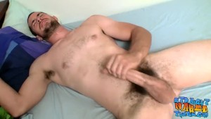 Yummy thug Hunter likes to play with his hard fuck stick