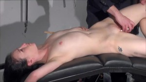 Gagged amateur slaves sextoy domination and spanked blowjob of whipped submissive