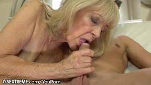 21sextreme horny granny rides young studs throbbing cock 2