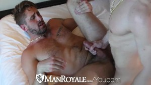 ManRoyale New Years Eve fuck and facial after wild party