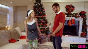 Bratty Sis - Making My Little Sis Cum For Christmas! S3:E9