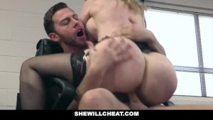 SheWillCheat - Older MILF Nina Hartley Hires Young Stud For Hardcore Sex