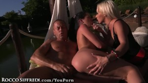 Rocco Siffredi's MONSTER Dick Makes Euro Teen Squeal!