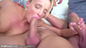 Desperate For Attention, Victoria Tastes 4 Big Daddy Dicks