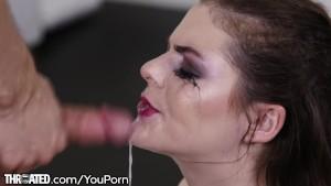 Throated Kendra Lynn Deepthroats That Cock HARD!!