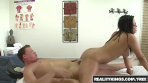 RealityKings - Happy Tugs - Adrianna Luna and  Ashton Kilmer - Happy Times