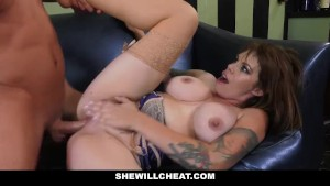 SheWillCheat - Cheating Bartender Wife Fucks A Patron