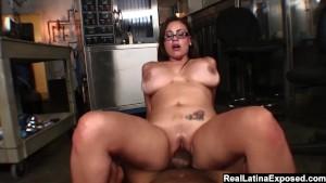 Horny bbw secretary caught masturbating