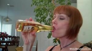 A Lot Of Cum For Amateur Grandma