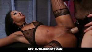 DeviantHardcore - Hot Submissive Femme Gabi Paltrova Bondage