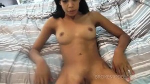 Jayla'a Anal Preparation Is Sucking White Cock